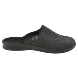 Szürke Befado férfi cipő pu 548M016