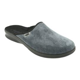 Szürke Befado férfi cipő pu 548M017