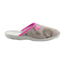 Papuče Befado 235d162 papuče sive