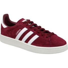 Adidas Originals burgundske cipele Campus M BZ0087