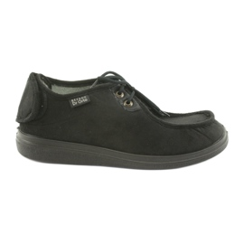 Fekete Befado férfi cipő pu 732M004