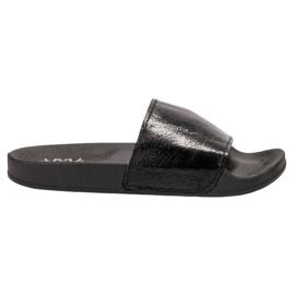 Small Swan Ležerne ženske papuče crna