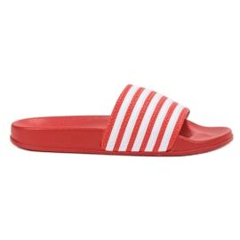 SHELOVET Sportske papuče s remenima crvena