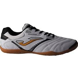 Nogometne čizme Joma Maxima 902 Sala In M crno-bijele bijelo, crno bijela