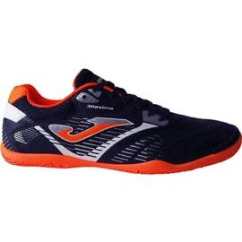 Nogometne čizme Joma Maxima 903 Sala In M tamno narančasta mornarica, narančasta mornarica
