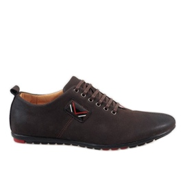 Barna Smeđe muške cipele WF932-3