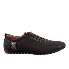 Barna Smeđe muške cipele WF933-3