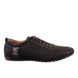 Smeđe muške cipele WF933-3