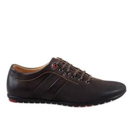 Smeđe muške cipele WF931-3
