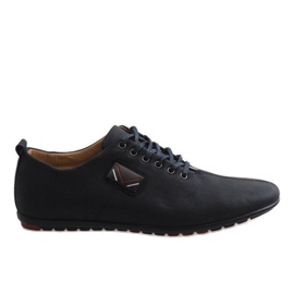 Fekete Crne muške cipele WF932-1