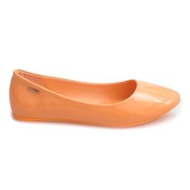Lakirane balerinke 11037 Narančasta