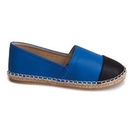 Kék Tenisice Espadrilles Posteljina LX116 Plava