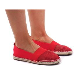 Tenisice Espadrilles, odjeća 188-38 Crvena
