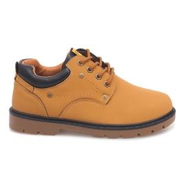 Smeđ Klasične cipele gležnjače JX-20 Camel