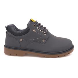 Szürke Klasične cipele Cipele JX-20 Grey