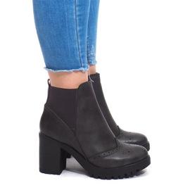 Izolirane čizme 35-611 sive siva