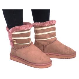 Rózsaszín Czarne Eskimoski 89-67 Pink