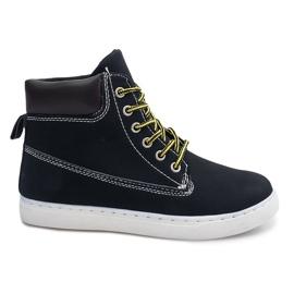 Fekete Sportske čizme 991 crna