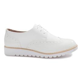 Bijele cipele Delphine Jazzówki smeđ
