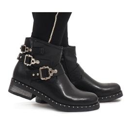 SDS crna Crne valjane čizme 7313-PA