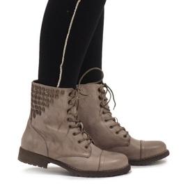 SDS zelena Čizme čizme od Khakija od čipke S170
