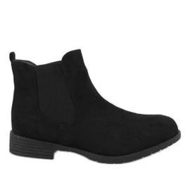 Kayla Shoes crna Crne čizme izolirane DD1863-1