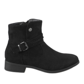 Kayla Shoes crna Crne čizme JKD-52