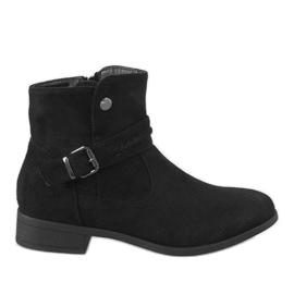 Kayla Shoes Crne čizme JKD-52 crna