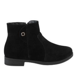 Kayla Shoes crna Crne izolirane čizme 885
