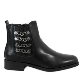 Kayla Shoes crna Crne izolirane čizme 8961