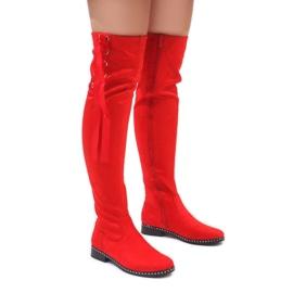 Foreverfolie piros Crvene antilopske tople čizme H308