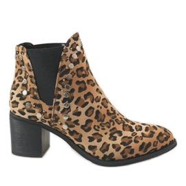 Erynn Leopardove čizme na postolju M290-1