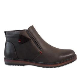 Smeđe izolirane papuče A20184-3