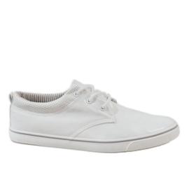 Bijela Bijele klasične muške tenisice BK-6005
