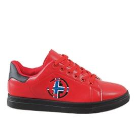 Crvena Crvene muške tenisice D20533
