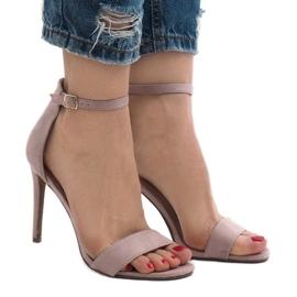 Purpurna boja Ljubičaste sandale na antilop cipele SY-31P
