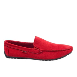 Piros Crvene elegantne mokasinke AB96K-2