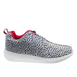 Bijele sportske cipele LD19-7