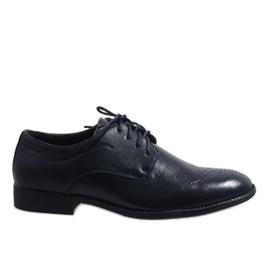Tamno plave elegantne cipele D181502B mornarica