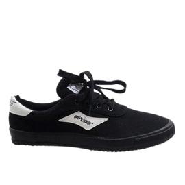 Fekete Crne muške tenisice HW01