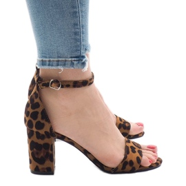 Leopard sandale s petom petom 5102