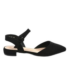 Crne sandale za balerinke 77-100 crna