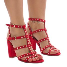 Crvene sandale na postu 168-163 crvena