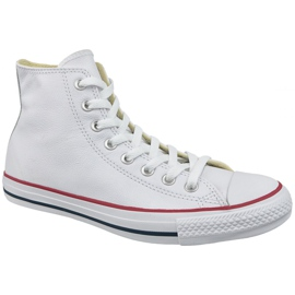 Bijela Converse Chuck Taylor All Star koža na 132169C