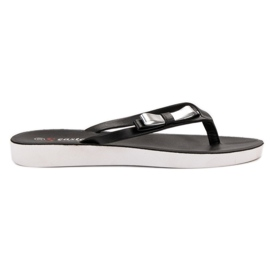 Seastar Papuče s lukom crna