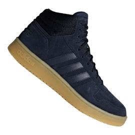 Košarkaške cipele adidas Hoops 2.0 Mid M F34798 tamnoplav mornarica