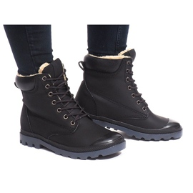 Fekete Izolirane čizme X5903 Crna