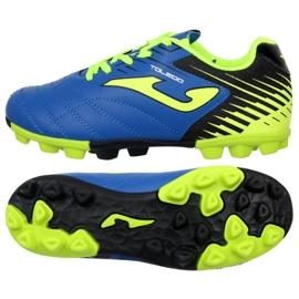 Nogometne čizme Joma Toledo 904 Fg Jr. TOLJW.904.24 plava plava