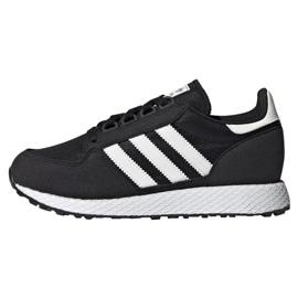 Fekete Cipele Adidas Originals Forest Grove Jr EE6557
