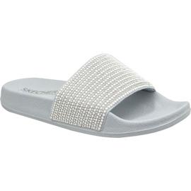 Papuče Skechers Pop Ups W 34210-GYSL siva